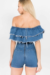 Denim Light Romper