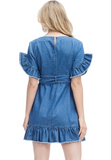 DENIM DRESS MINI
