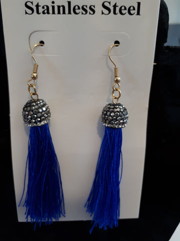 Earing Blue Royal