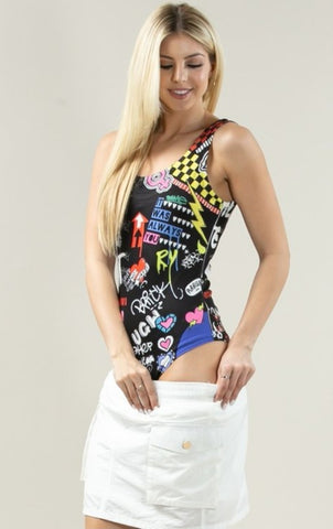 BODYSUIT MULTI COLOR