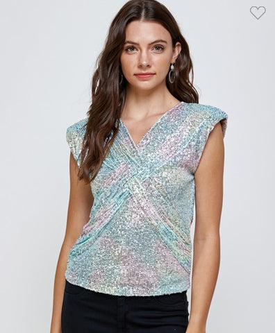 Light Rainbow Top