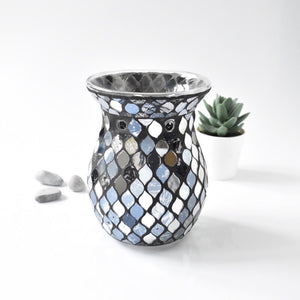 Black & Silver Wax Warmer