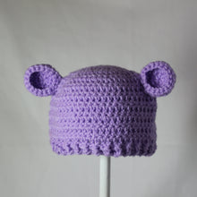 Load image into Gallery viewer, Newborn Teddy Beanie