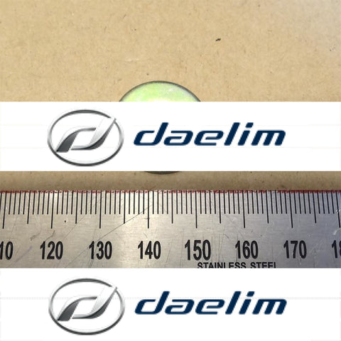 1 Pcs Flat Plain Washer M10 10 Mm Daelim Models