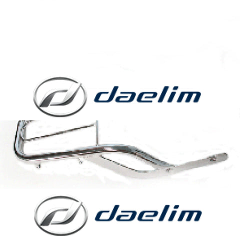 Aftermarket Luggage Carrier Daelim Vt125 Vl125 Vl250