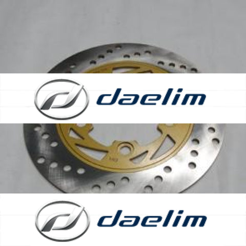 Aftermarket Rear Brake Disc Rotor 5 Holes Daelim Vj125 Vjf125 S2 250 S3 125
