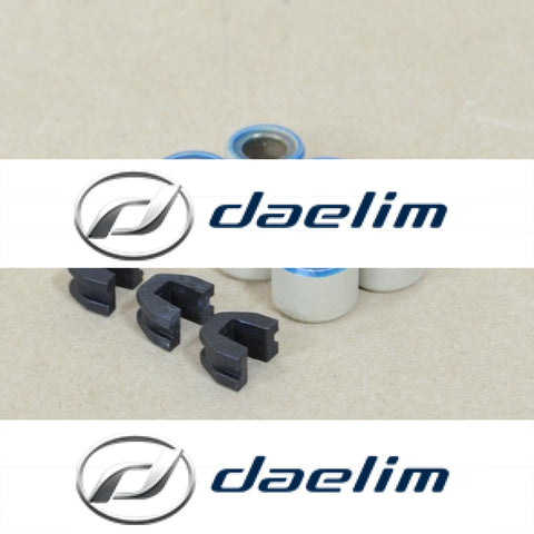 Cvt Variator Roller Weights Set (6 Pcs) Daelim Sc125 Su125
