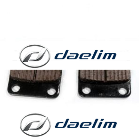 Genuine Brake Pad Set Daelim Sl125 Vc125 Vs125 Sn125 Sg125 Sq125 S1 125 Ns125