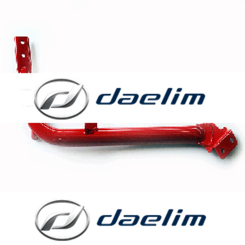 Genuine Cradle Pipe Left Daelim Sn125 (Red)