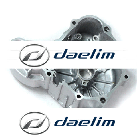 Genuine Crank Case Cover Left Silver Daelim Vj125