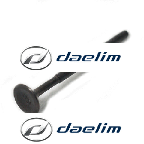 Genuine Engine Exhaust Valve Daelim Sl125 Sg125 Sq125 S2 125 Ns125