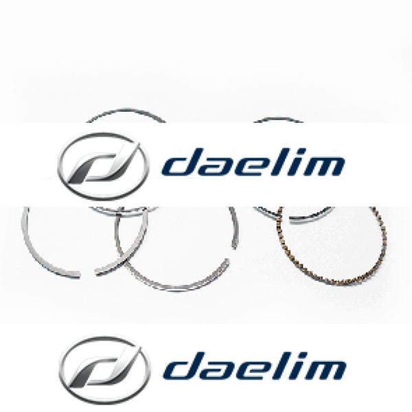Genuine Engine Piston Rings Set Daelim SL125 SN125 S1 125
