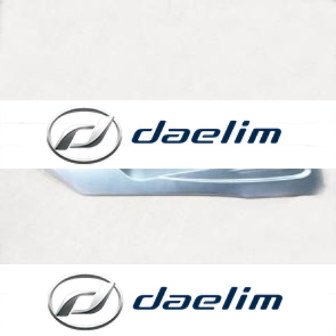 Genuine Floor Side Cover Right Silver Daelim S2 125 250
