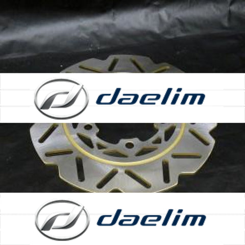 Genuine Front Brake Disc Rotor Daelim S3 125 Sv125