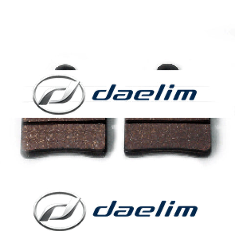 Genuine Front Brake Pad Set Daelim S1 125 Sn125 S2 250 S3