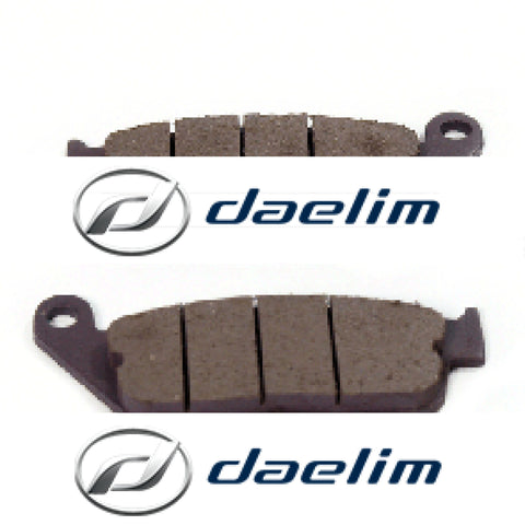 Genuine Front Brake Pad Set Daelim Vl125 Sq250 Vj125 Vt125 Vl250