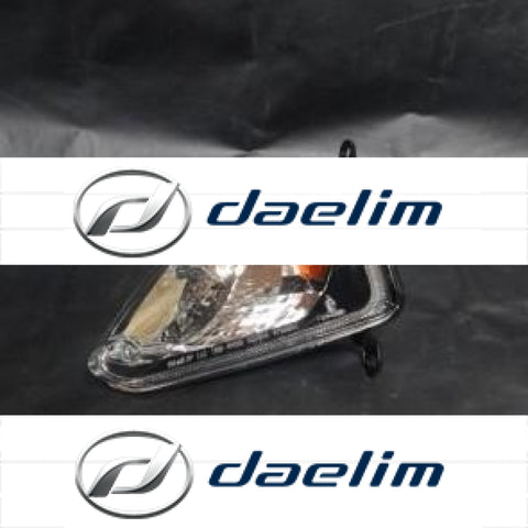 Genuine Front Left Turn Signal Daelim S2 125 250 Sq Sq250