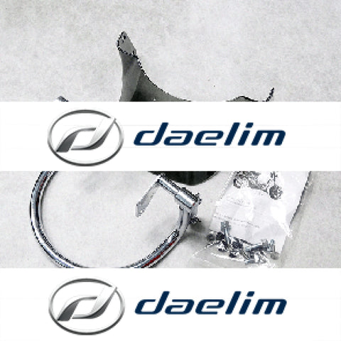 Genuine Headlight Guard Protector Assy Daelim Sn125 B-Bone