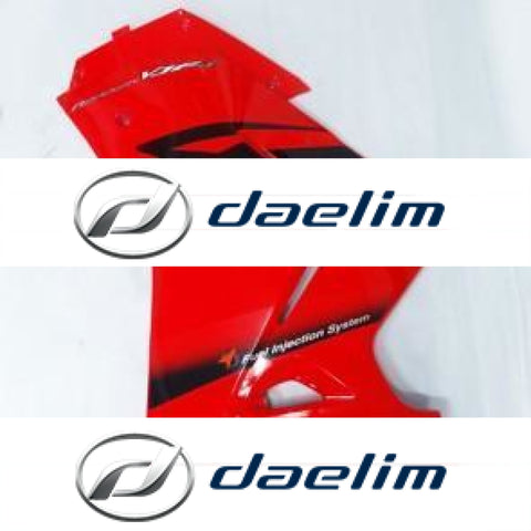 Genuine Lower Left Fairing Cowl Red Daelim Vjf125