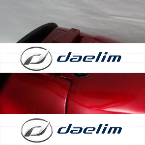 Genuine Luggage Trunk Top Case Red Daelim Sq125 S2 125 Sq250 250