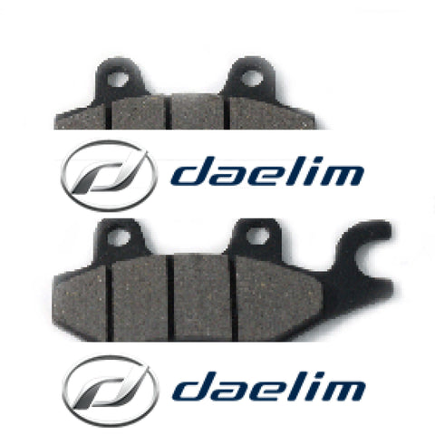 Genuine Rear Brake Pad Set Daelim S2 250 Vj125 Vjf125 Vl125 Vl250