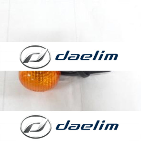 Genuine Rear Left Turn Signal Clear Amber Lens Daelim Sc125 Sc125C