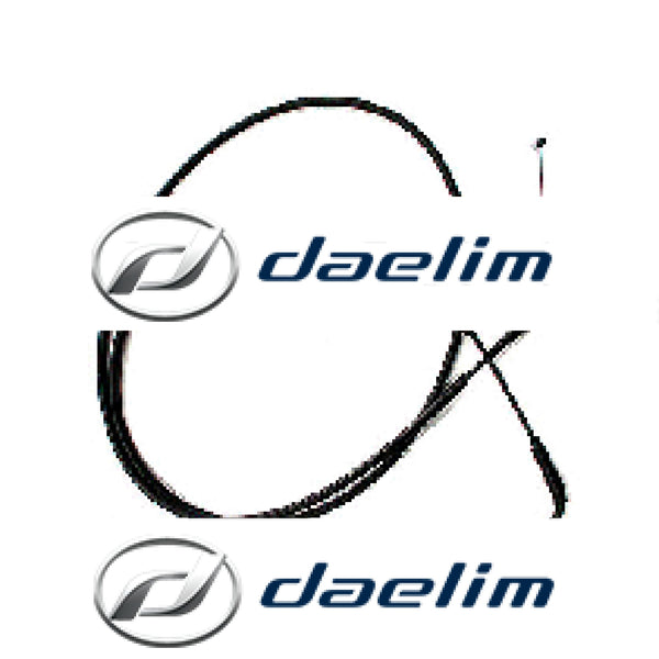 Genuine Throttle Cable Carby Model Daelim SQ125 S2 125