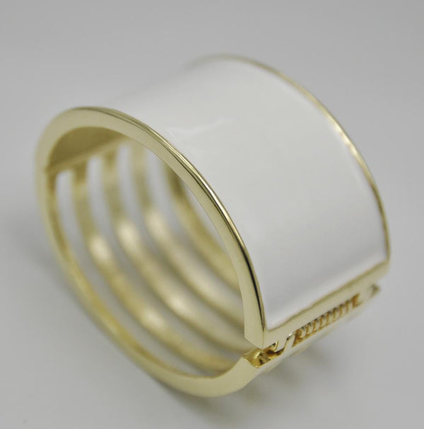 Expandable Alloy Cuff Bangle Bracelet R121A - hotfans