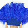 Kongeblå Open Majestic Style Ostrich Feather backpiece - hotfans