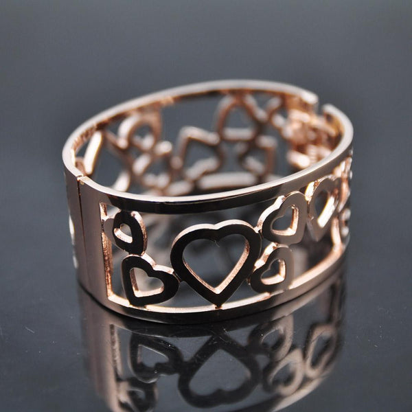 Expandable Alloy Cuff Bangle Bracelet Sz53 - Hotfans