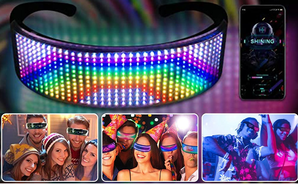 Party LED Shining Glass with Bluetotth APP Control