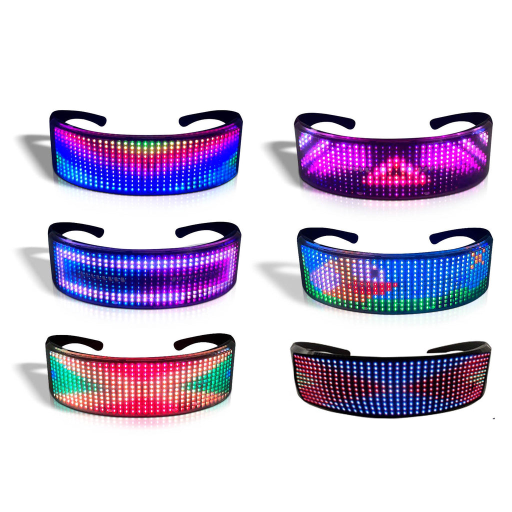 Party Glasses with LED and Bluetotth APP control