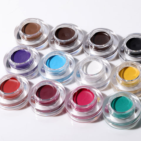 Vibrant Color Eyebrow Tint and Eyeliner Pomade gel