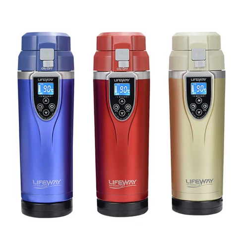 Adjustable Temperature Car Thermos (350ml)
