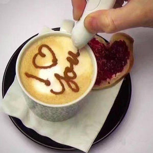 Latte Art spice pen electronic
