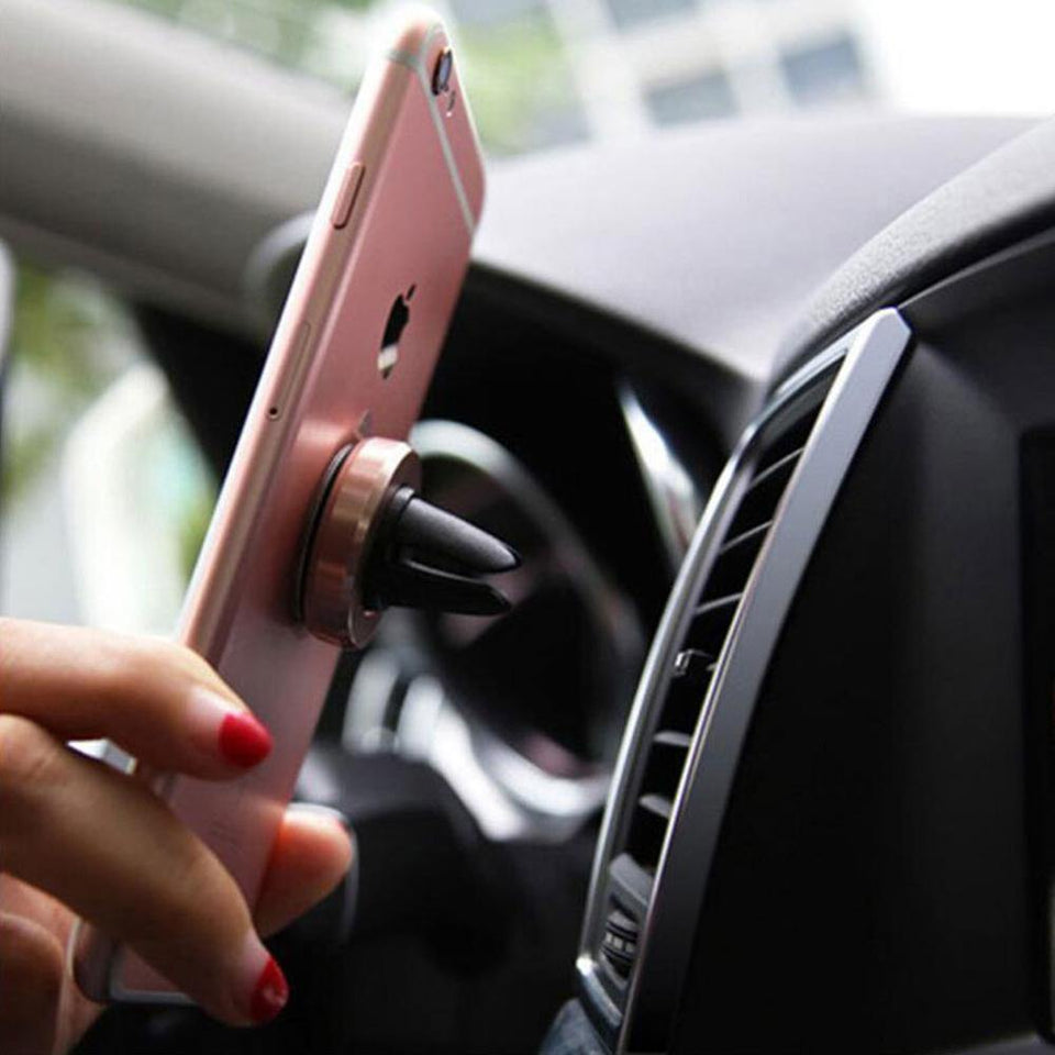 Magnetic Air Vent Phone Holder - CoolCatGadget