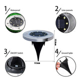 in ground solar lights