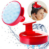 Silicone Shampoo Brush and Scalp Massager - CoolCatGadget