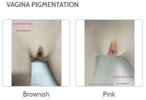 Sanhui sex dolls vagina pigmentation