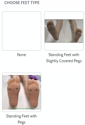 Sanhui sex dolls feet customization