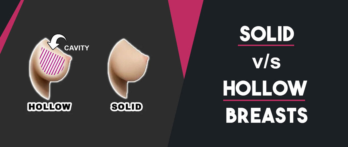 solid vs hollow breast options