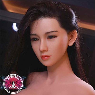 "Agnes - 161cm | 5' 2"" - G Cup (Hybrid - Silicone Head + TPE Body) w. Implanted Hair"