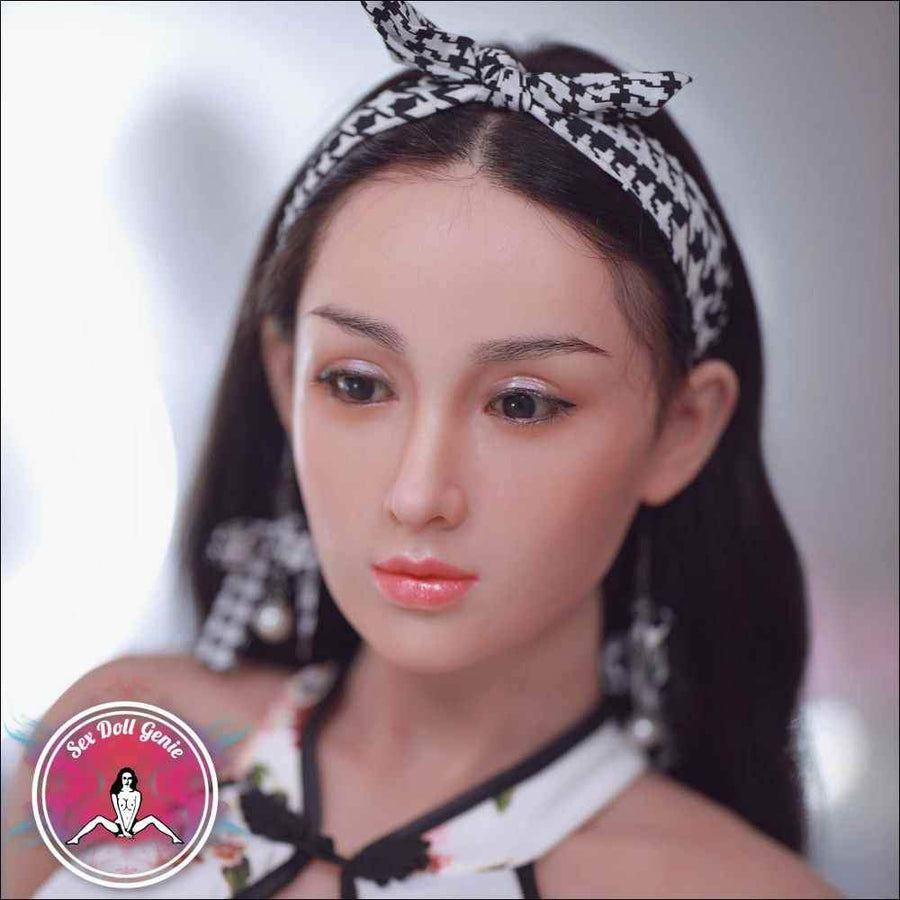 "Jinky - 166cm | 5' 4"" - H Cup (Hybrid - Silicone Head + TPE Body)"