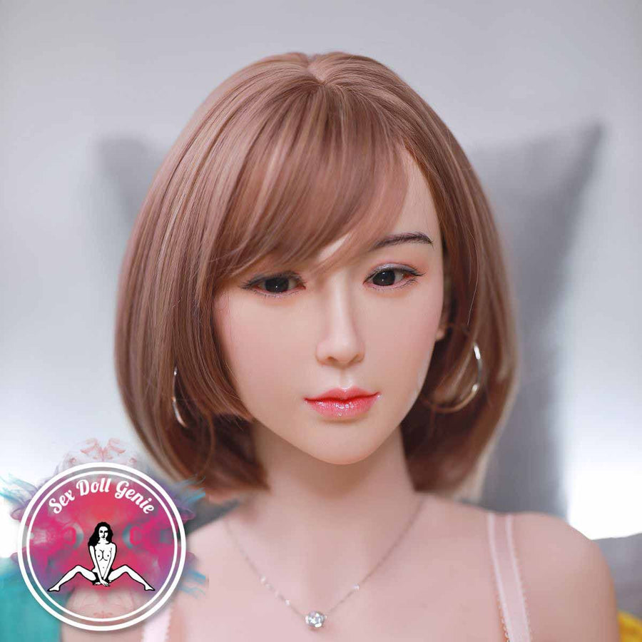 "Ione - 161cm | 5' 2"" - G Cup (Hybrid - Silicone Head + Implanted Hair + TPE Body)"