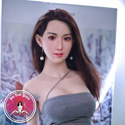"Yolande - 168cm | 5' 5"" - K Cup (Hybrid - Silicone Head + TPE Body) incl. Implanted Hair"