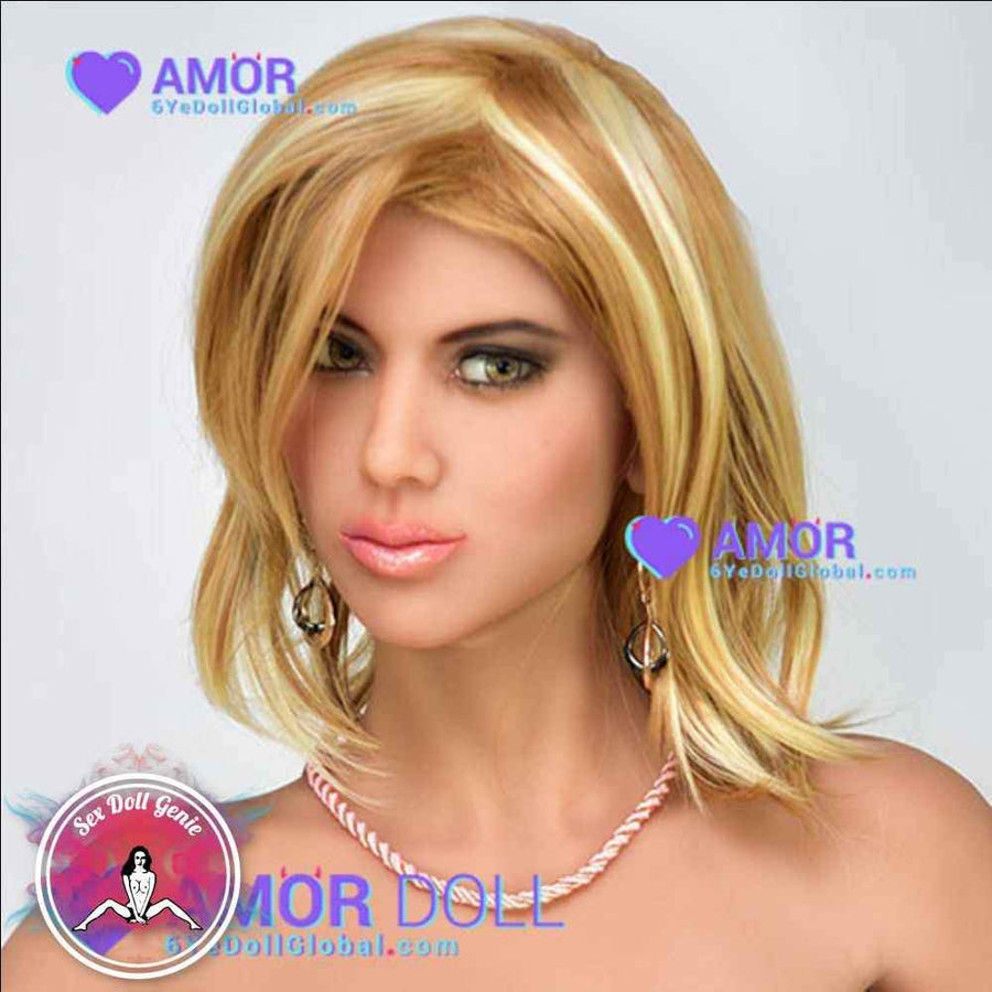 6YE Doll Head - Carina Blonde Wig