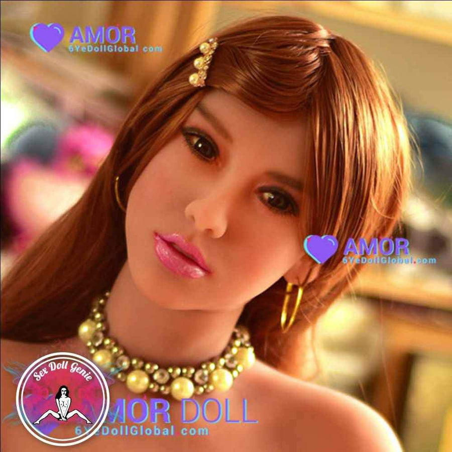 6YE Doll Head - Danica Tan Skin