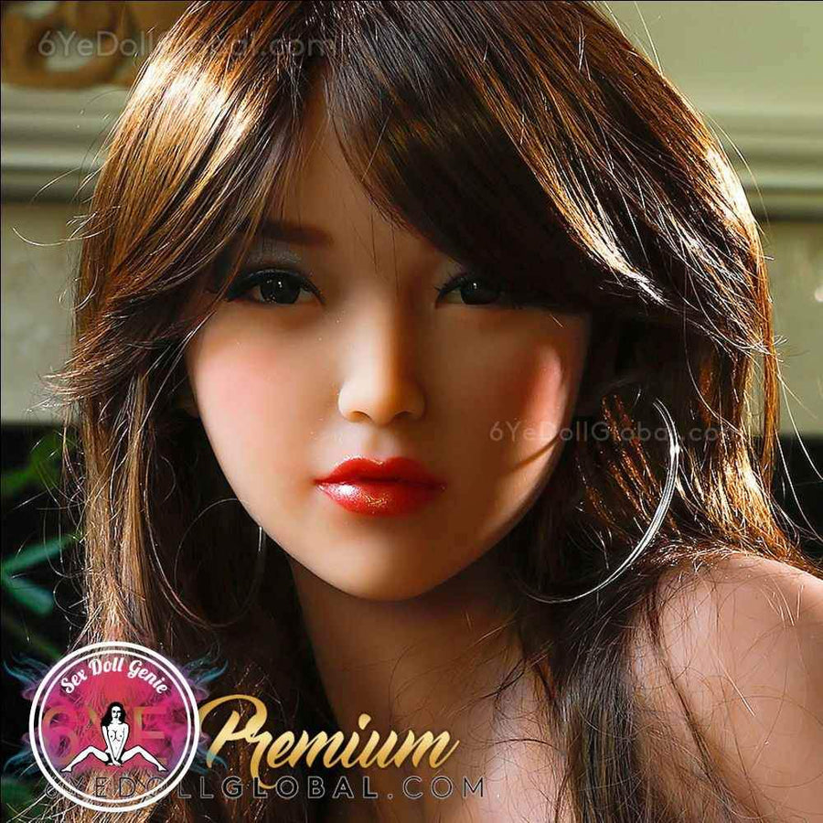 6YE Doll Head - #N16 Brunette Orig