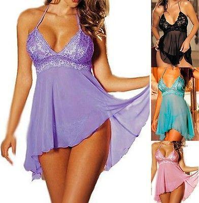 Sex Doll - Sexy Plus Size Women Nightwear - Product Image