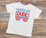 American Dude Kids T-Shirt - LITE Imprints